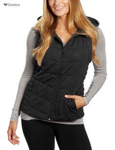 Be by Blanc Noir Ladies' Hooded Vest