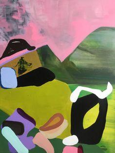 """Saatchi Art Artist Erin Armstrong; Painting, """"Way Down We Go"""" #art"""