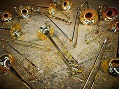 Workshop trombones