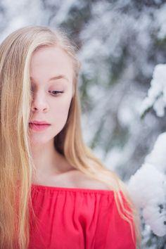 portrait , self portrait , Winter , snow