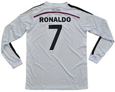 6e2ec9f3f Amazon.com   2014-2015 Real Madrid Adult Set Jersey+Short Size  Sm-Md-Lg-X-Lg (Medium)   Sports   Outdoors