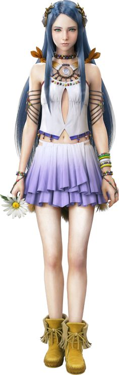 Paddra Nsu-Yeul from FFXIII-2. I hope to cosplay her in 2014 or 2015. <3