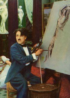 Artist Charlie Chaplin