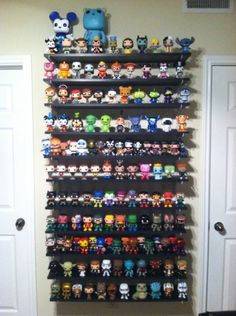 IKEA Ribba ledges (we have 4 white ones, need more!) | Ideas for our collectibles displays | *K*