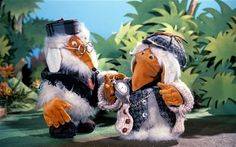 The Wombles of Wimbledon Common.