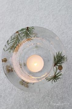 Mrs. Monday: diy: islykter // ice lanterns