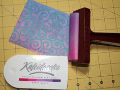 reversed-cuttlebug-technique - TIPS for different effects, color ideas. Card Making Tips, Card Making Techniques, Making Ideas, Scrapbooking, Scrapbook Cards, Cricut Cuttlebug, Embossing Techniques, Making Greeting Cards, Card Making Inspiration