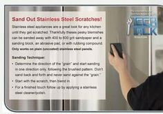 Scratches in your stainless? Not a problem, DIY!