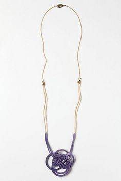 Anthropologie - Dip Dyed Necklace - must try