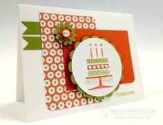 Stampin up demonstrator blogs punch big shot rubber stamps catalog card ideas mojo monday