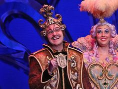 beauty and the beast broadway costumes | ... Fun of Being the Curmudgeon Cogsworth in Beauty and the Beast on Tour