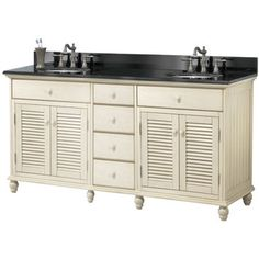 FREE SHIPPING! Shop Wayfair for Foremost Cottage 60 Vanity Cabinet - Great Deals on all Furniture products with the best selection to choose from!