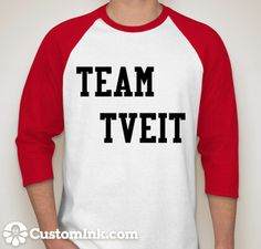 """I neeeeeed this ;)  Or one that says """"Team Aaronjolras""""  - I think I'd love that even more."""