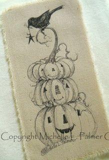 Michelle Palmer: Harvest of New Art! Halloween Painting, Holidays Halloween, Halloween Crafts, Halloween Decorations, Halloween Rocks, Halloween Witches, Halloween Drawings, Halloween Halloween, Autumn Painting