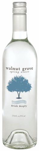 Walnut Grove Bottled Water | www.finewaters.com | Formed millennia ago and remaining untouched by the glacial giants that flattened most points north, the Walnut Grove Spring is undoubtedly a natural phenomenon. The land bearing the spring is thought to have been formed by the flow of an ancient river that cut a massive valley in the picturesque countryside.