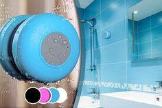Bluetooth Shower Speaker - 4 Colours!