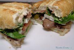 Torta de lomo de cerdo #RecetasGratis #RecetasdeCocina #Recetasfáciles #Sándwiches #SándwichesIdeas #Bocadillos #Bocatas