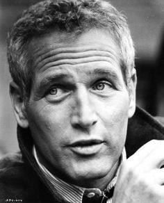 Paul Newman is one of the most handsome men I've ever seen. He's older in this picture and still handsome!