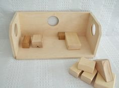 Hand made hardwood doll house made by maser cabinet maker.  Quality mod windows for hours of imaginary play.