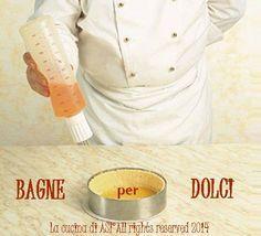 Le bagne per torte sono importantissime per la buona riuscita di un dolce e pure la crema usata per la farcia deve sposarsi al meglio ...La cucina di ASI