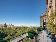Full-floor co-op on Fifth Avenue is listed for $95 million.  Liberty Travel founder Gilbert Haroche listed his pad at the Sherry Netherland on Fifth Avenue in September 2012.  The full-floor spread on the 18th floor has 15 rooms and terraces overlooking Central Park and the rest of Manhattan.