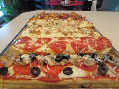 Personalized Homemade French Bread Pizza