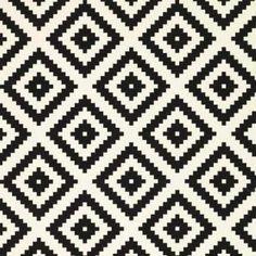 tapis noir et blanc, tapis de sol, tapis ikea, tapis pas cher, tapis ethnique