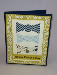 stampinup fathers day cards | Father's Day Bow Tie Card made with Stampin' Up! supplies