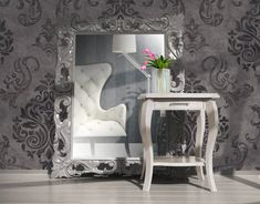 Revamp a single room or your whole home with our stunning range of wallpaper, sure to suit any taste & budget. Wood Painting Art, Bohemian Style Bedrooms, Of Wallpaper, Living Room Bedroom, Wall Signs, Small Spaces, Home Goods, Creations, Contemporary