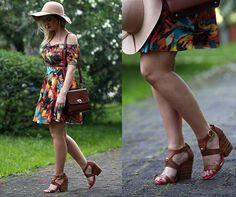 Amamos o look charmoso e primaveril da Ivana Rebeschini, do blog Verdade Feminina. A sandália Tanara é confortável e LINDA!  Mais looks lindos você confere aqui: http://www.verdadefeminina.com.br/