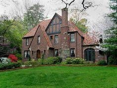 Brick tudor style
