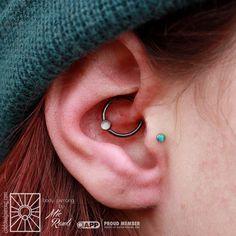 1,6 mm Ø segmento-Ring diverse colores BASIC-piercing-acero quirúrgico