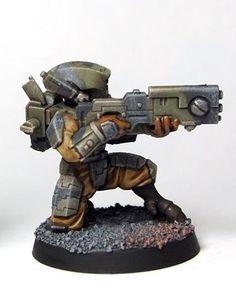 Tau Warhammer, Warhammer Paint, Warhammer Models, Tau Army, 40k Armies, Tau Empire, Foam Armor, Warhammer 40k Miniatures, Sword And Sorcery