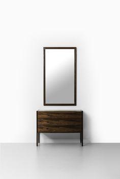 Aksel Kjersgaard mirror in rosewood by Odder at Studio Schalling