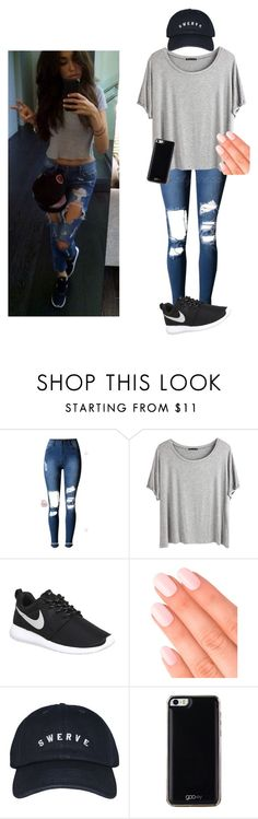 """""""Happy new year everyone!!!"""" by mebstyles ❤ liked on Polyvore featuring Chicnova Fashion, NIKE, Elegant Touch and Gooey"""