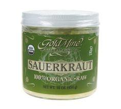 GOLD MINE ORGANIC RAW SAUERKRAUT 16 OZ - http://goodvibeorganics.com/gold-mine-organic-raw-sauerkraut-16-oz/