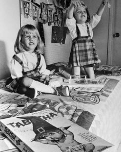 The twins who played tabatha! Erin and Diane Murphy BEWITCHED