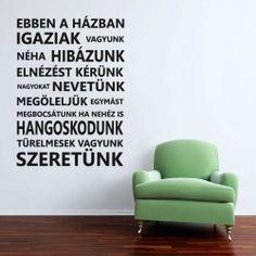 Faltetoválások, avagy dobjuk fel a lakást matricákkal! Words, Quotes, House, Home Decor, Garden, Diy, Creative, Quotations, Decoration Home