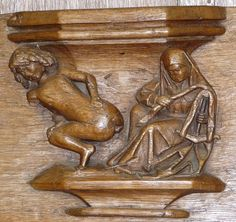 Misericord, Oude Kerk, Amsterdam, Holland | Flickr - Photo Sharing!