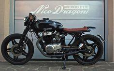 """NICO DRAGONI MOTOCICLETTE # Honda CB400N """"Stefano"""""""