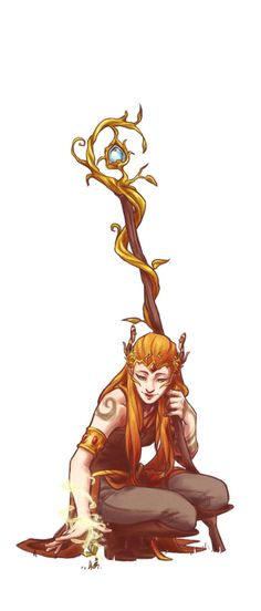 Keyleth from critical role~