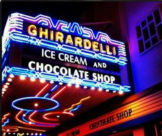 Ghirardelli at the Gaslamp District in San Diego