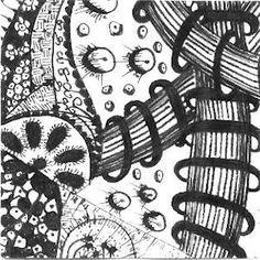 Zentangle twinchie by louvebleue on Flickr - copyright protected #doodles #tangles #zentangles #art #twinchie