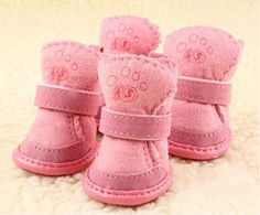LOVEPET Dog Boutique Cashmere Sherpa Durable Boots M Pink, Size 3#, Dogs Costume - http://www.thepuppy.org/lovepet-dog-boutique-cashmere-sherpa-durable-boots-m-pink-size-3-dogs-costume/