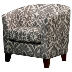 "Portland Tub Chair - Charcoal Gray $250 online at Target (with 20% off perhaps and free shipping) (18.5 "" H x 20.0 "" W X 21.75 "" D)"