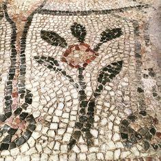 Now in Byzantine Museum, Thessaloniki, Greece Byzantine Mosaics, Building Images, Mosaic Ideas, Thessaloniki, Rock Art, Archaeology, Metal Working, Bohemian Rug, Greece