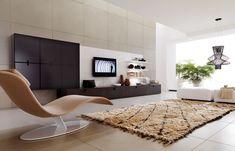 Modern interior. 3D render. Living-room. Exclusive design. | Visit http://www.suomenlvis.fi