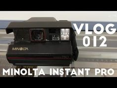 Alex gives you a very brief tour of the Minolta Instant Pro, a Minolta branded variant of the Polaroid Spectra Pro. Video Capture