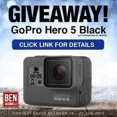 GoPro Giveaway Jan 2017