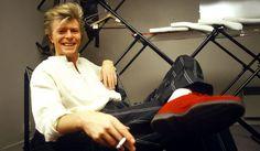 David relaxing
